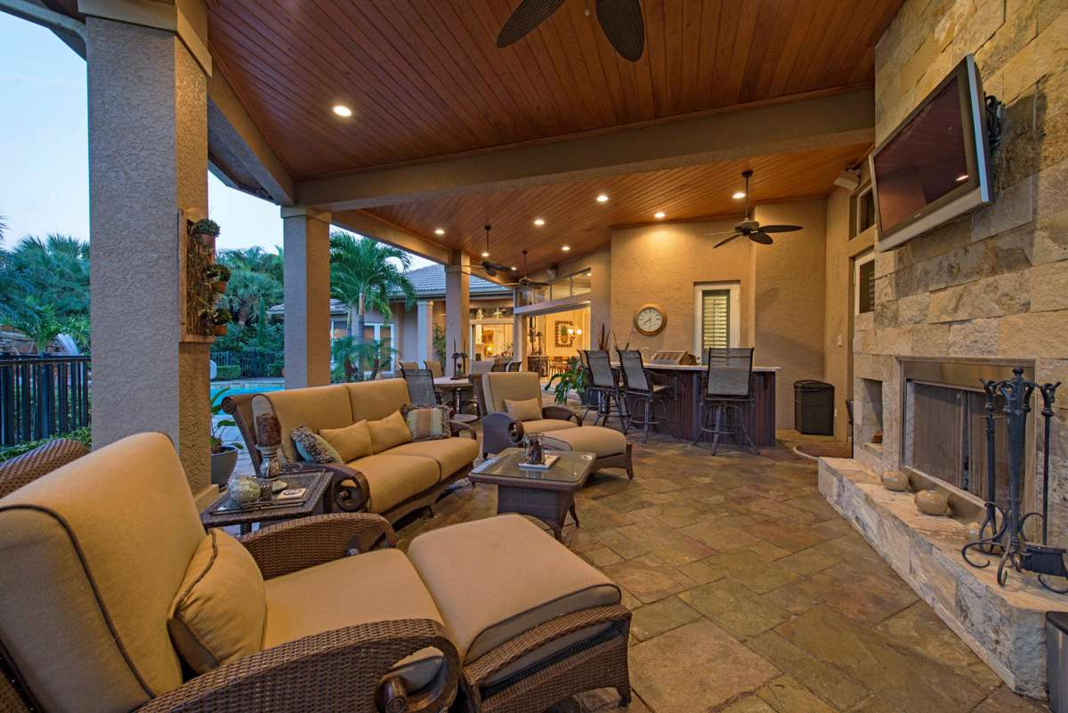 7347 stonegate drive naples fl-large-010-tongue and groove ceiling